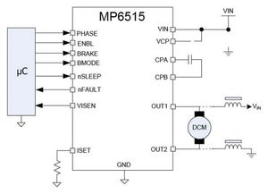 MP6515 application