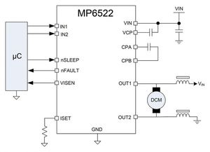 MP6522 application
