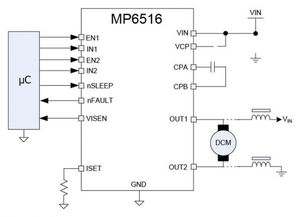 MP6516 application